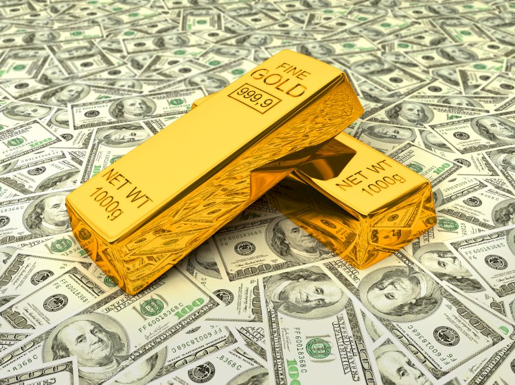 Harga emas menembus $ 2.000 per ons Dolar AS melemah