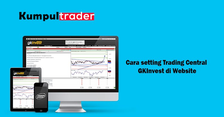 Cara setting Trading Central GKInvest di Website