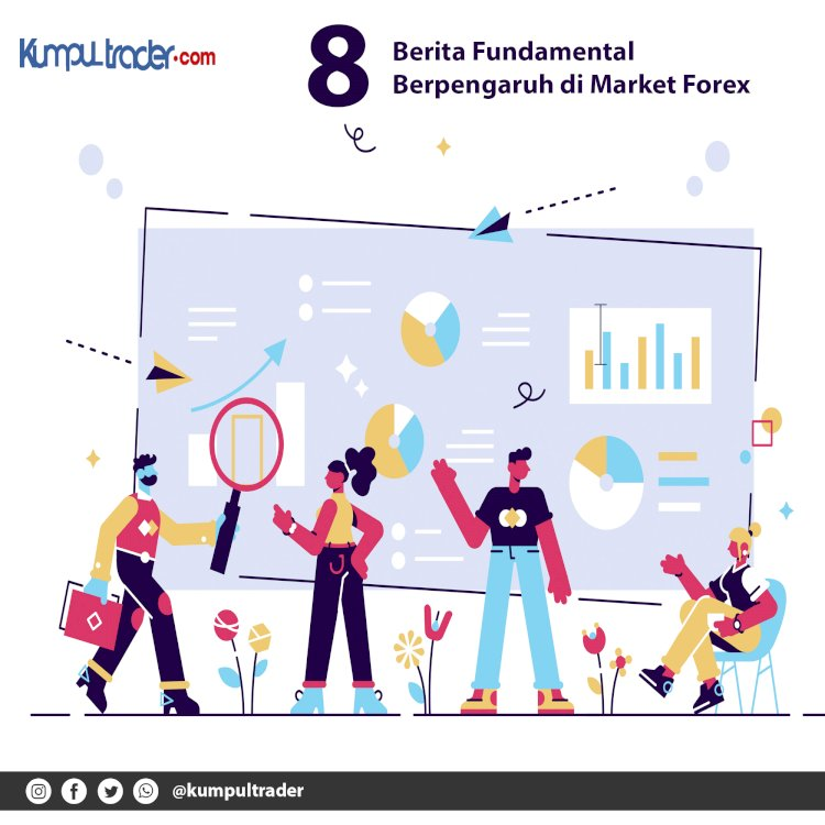 8 Berita Fundamental Berpengaruh di Market Forex