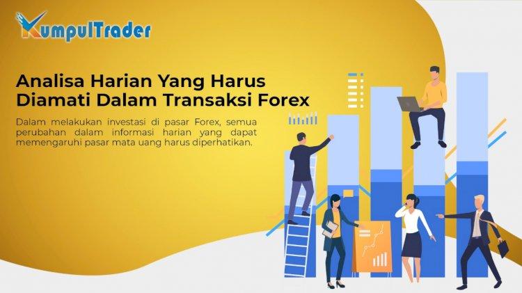 hal yang perlu dipertimbangkan dalam forex