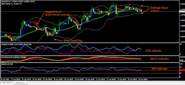 Envelope Reversal Forex Trend following Strategy | Forex MT4 Indicators