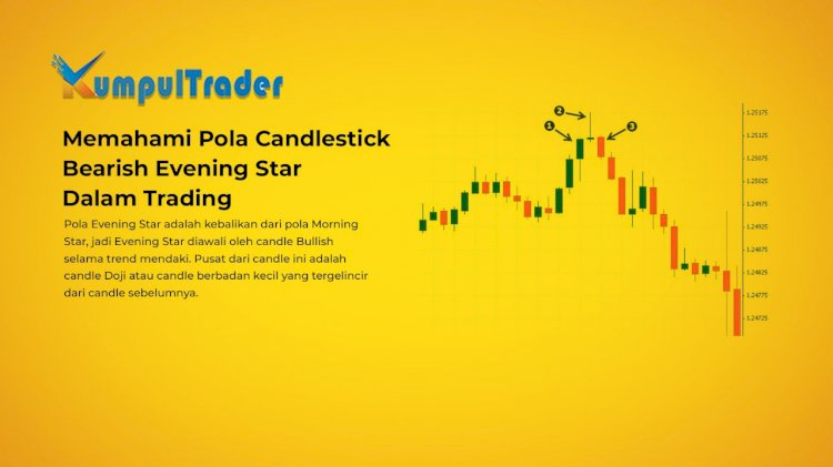 Memahami Pola Candlestick Bearish Evening Star Dalam Trading